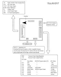 tarot naze 32 acro cased flight controller tl300d3 flying tech tarot naze 32 tl300d3 connection diagram