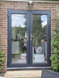 double glazed exterior patio doors. grey upvc french doors doncaster double glazed exterior patio