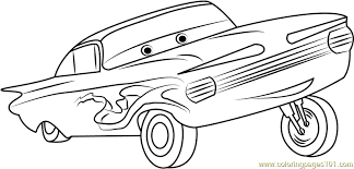 Small Picture Ramone Coloring Page Free Cars Coloring Pages ColoringPages101com