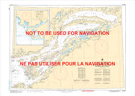 Great Lakes Navigation Charts 6341 Great Slave Lake Eastern Portion