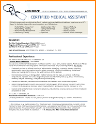 9 Medical Assistant Resume Template Letter Signature