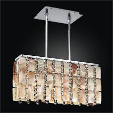 oyster shell chandelier rectangular chandelier tropical paradise 632ym3lsp 7c