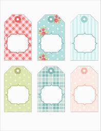 Gift Tag Template Free Bridal Shower Favor Tags Template Free Best Tea Party Thank