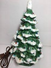 11 Inch Ceramic Christmas Tree Holland Mold Christmas Tree Mid Holland Mold Christmas Tree