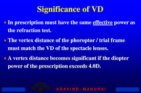 Ppt Vertex Distance And Calculations Powerpoint