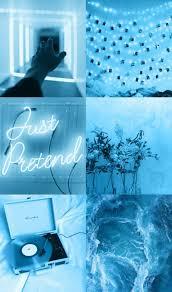 Asthetic blue wallpaper #blueaesthetic ...