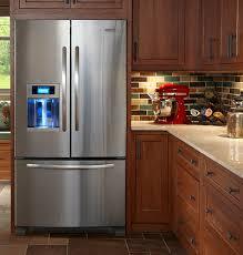 french door refrigerator in kitchen. Refrigerator Repair | Pros And Cons Of A French Door In Kitchen C