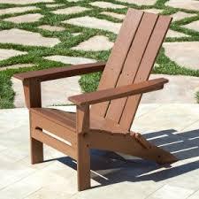 POLYWOOD Modern Folding Adirondack Chair. QUICK VIEW