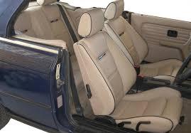 bmw e30 318i 320i 325i m3 leather seat covers 1987 1993