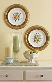use ceiling medallions as frames for grandma s dishes on framed plates wall art with use ceiling medallions as frames for grandma s dishes favorite