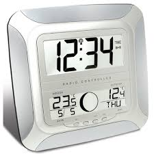 the technoline ws 8118 utilises the powerful dcf77 automatic radio control timing signal which maintains the accuracy of the clock and offers excellent
