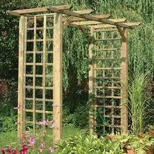 forest classic garden arch elbec