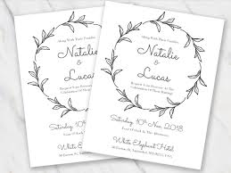 Wedding Cards Template 100 Free Wedding Invitation Templates In Word Download Customize