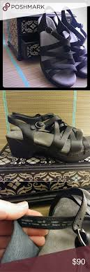 Dansko Leather Black Stevie Sandal Style Stevie Collection