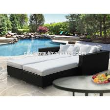 Modern patio rattan outdoor pool bed-in Garden Sofas from Furniture on  Aliexpress.com | Alibaba Group