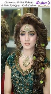 glamorous bridal makeup and hair styling done by kashif aslam by kashee s beauty parlour