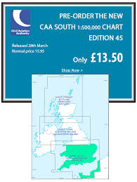 Caa England South Chart Flight Store Pre Order Caa Ed 45 South Save 15 Milled