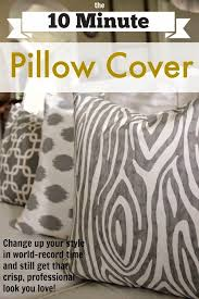 Pillow Cover Patterns For Throw Pillows