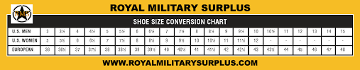 Ocp Female Size Chart Military Boots Size Chart Ocp Conversion Chart Flight Suit