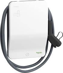 Station de charge EVlink Wallbox eMobility Schneider Electric EVH2S3P0CK  4699096 type 2 mode 2 16 A 3.7 kW interrupteur | Conrad.fr