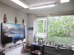 painting studio lighting. I Bought Five True-light Tubes, Et Voila, Problem Solved. Can Paint Under  Any Circumstance, Even At Night If Wanted To, Which Don\u0027t. Painting Studio Lighting T