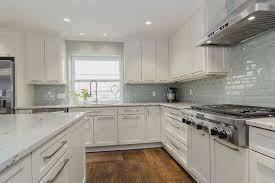 image of glass backsplash ideas for granite countertops
