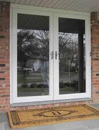 exterior inspiring front door design ideas with storm doors