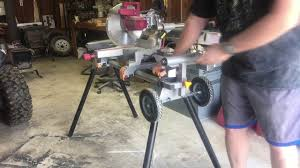 harbor freight miter saw. harbor freight mobile miter saw stand review e
