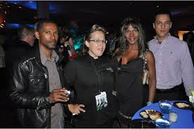SFF Opening Night Party - Ramon Johnson, Christine Nordstrom, Florys  Johnson and Jason Ramos | Your Observer