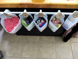 diy storage from recycled milk cartons