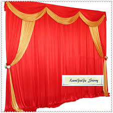 2019 Nice Red Wedding Background With Gold Drapes For Party Wedding Festive 10ft 10ft Other Size Can Customized From Langegestory 91 2