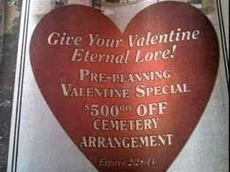 joint burial plots is one of 5 quirky valentine s gifts