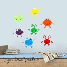 boy wall decal monsters inc wall decals monster alien wall decals kids wall decals boys decals