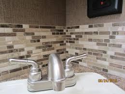Compelling Stick Backsplash Tile Design Peel ...