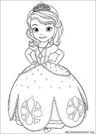 Little Princess Coloring Pages Antiatominfo