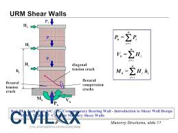 design example of shear wall civil