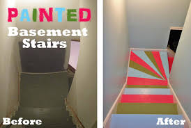 Best Paint For Stairs Painted Basement Stairs