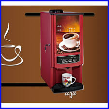Vending Coffee Machine Cool Three Raw Materials Fully Automatic Vending Coffee Machine Korean
