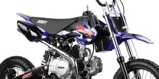ssr 125 automatic pit bike free shipping