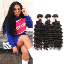 <b>Brazilian Deep Wave Hair</b>,Remy Deep Wave Hair Bundles