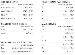 Uk Glove Size Conversion Chart Size Chart