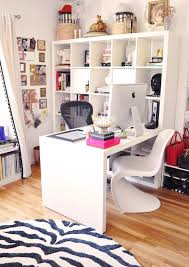 beautiful home office ideas. White Square Computer Desk Color Furniture For Beautiful Home Office Ideas And Modern Chairs Design With Best Large Round Rugs Decor Also Using Decorate O