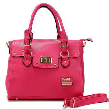 Coach Sadie Flap In Spectator Medium Fuchsia Satchels AOH