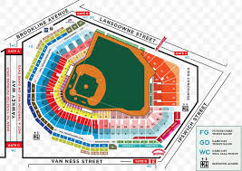 Fenway Park Detailed Seating Chart Fenway Park Boston Red Sox Mlb Map Seating Assignment Png