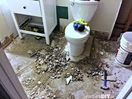 re tiling bathroom floor. Demo Tile Bathroom Floor - Still Using Toiled And Sink Re Tiling E