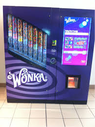 Movie Vending Machine Gorgeous Wonka Vending Machine There Is One Of These At Our Movie Theatre