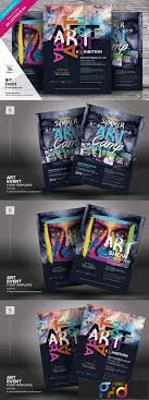 Art Event Flyer Art Event Flyer Templates 2901672 Freepsdvn