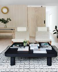idea to steal black coffee tables on apartment 34