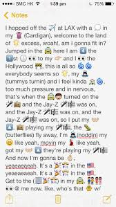 Emoji Lyrics Party In The Usa Part 1 By Miley Cyrus Lyric