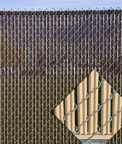 Wonderful Chain Link Fence Slats Ez Ridged 85 Coverage To Design Ideas